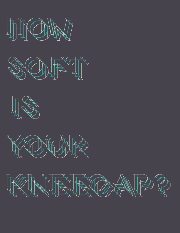 how soft is your kneecap?